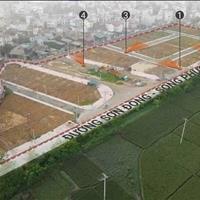 Đất đấu giá xã Sơn Đồng, Hoài Đức mặt đường Tỉnh lộ 422 nối Đại lộ Thăng Long và Quốc Lộ 32
