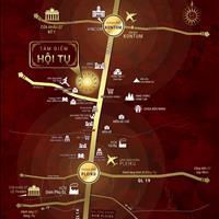 Đất nền thị trấn Phú Hòa, Gia Lai, diện tích 180m2 giá 499 triệu, sổ hồng riêng đường 30m - liên hệ