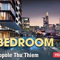 Bán 2 phòng ngủ Metropole Thủ Thiêm giai đoạn 1 chênh lệch thấp