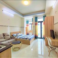 Căn hộ mini Studio ban công full nội thất Trần Nhân Tôn - Quận 10 gần đại học Kinh Tế