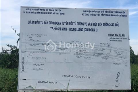 Bán đất nền dự án duy nhất mặt tiền Võ Văn Kiệt, Xã Tân Kiên, Huyện Bình Chánh