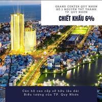 Căn hộ thành phố biển Quy Nhơn Grand Center Quy Nhơn, giá 36tr/m2. Thanh toán 20% Ngân hàng HT 70%