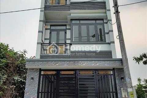 Nhà phố vườn, sổ hồng 4,6 x 22m, 3 lầu, 4 phòng ngủ, Lê Văn Lương, Nhà Bè