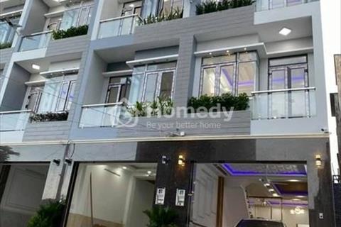 Biệt thụ vườn, sổ hồng 5 x 13m, 3 lầu, sân thượng, Huỳnh Tấn Phát, Thị trấn Nhà Bè
