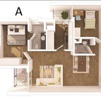 chuyển nhượng các căn hộ thuộc khu rừng cọ với các diện tích từ 71m2 đến 154m2