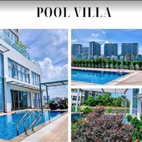 Cần cho thuê căn Pool Villa Diamond Island, full nội thất cao cấp, view sông Saigon thoáng mát