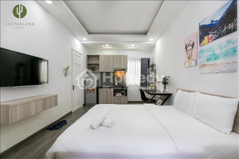Cho thuê căn hộ cao cấp Phú Nhuận - Có bếp - Ban công - Sân thượng có thể tổ chức BBQ - 6tr/tháng