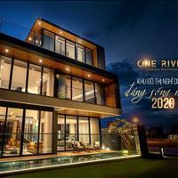 Bán đất nền biệt thự 2 mặt tiền sông, cạnh công viên trung tâm Đà Nẵng, cách biển 700m giá sốc