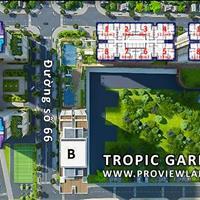 Bán căn hộ Tropic Garden Quận 2 tầng cao tháp A2, thiết kế sang trọng đầy đủ nội thất.