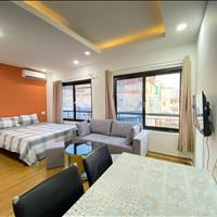 Căn hộ 1 phòng ngủ 50m2 quận 1, đầy đủ nội thất gỗ, sàn đá hoa cương, an ninh thang máy, giá tốt T2