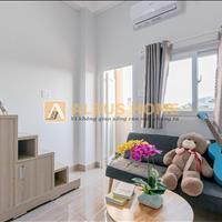 Căn hộ Quận Tân Phú  – ban công - máy giặt riêng - đủ nội thất