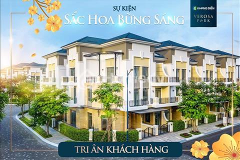 Sở hữu ngay nhà phố biệt thự Verosa Khang Điền, rinh xế xịn lên đến 1.5 tỷ, chiết khấu 18%
