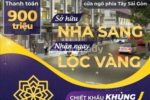 Nhà phố tại KĐT Nhà Xinh HomeGarden cách Trung Tâm HCM 30p di chuyển, sở hữu ngay chỉ với 900 triệu