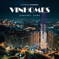 Cho thuê căn hộ cao cấp Vinhomes Central Park, diện tích đa dạng, full nội thất