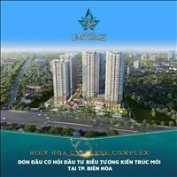 Căn hộ trung tâm TP Biên Hòa giá chỉ từ 30tr/m2 chiết khấu đến 22%