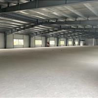 Cho thuê đất, nhà xưởng, kho bãi KCN Phú Nghĩa, có phòng cháy chữa cháy diện tích 3000m2