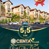 Ra mắt dự án mới Centa Villas - Biệt thự xanh giữa trung tâm vùng thủ đô Hà Nội