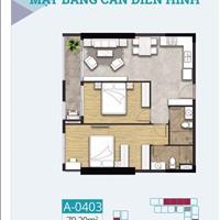 Căn hộ khu Chánh Nghĩa - TDM, 80m2, 2 phòng ngủ duy nhất hướng đông bắc giá gốc 100% CĐT 2 tỷ 654tr