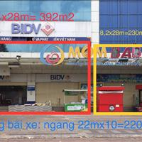 Cho thuê mặt bằng khủng 622m2, ngang 22m mặt tiền Trần Văn khéo