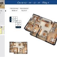 Bán căn 04R4 Goldmark City tầng cao full nội thất gồm 4 phòng ngủ