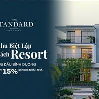 Nhà phố chuẩn Resort The Standard An Gia Bình Dương compound 1 trệt 2 lầu sân thượng