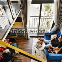 (Chính chủ, đúng hình đúng giá) căn hộ dịch vụ gác lửng đẹp, ban công và cửa sổ gần Thảo Cầm Viên
