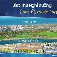Ra mắt khu đô thị Rosa Riverside ven sông Cổ Cò - Hội An, giá chỉ 14,9 triệu/m2
