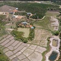 Đất có sẵn hồ, bán 310tr/xào, Gung Ré, Di Linh, Lâm Đồng, đất nhà, cặp suối tự nhiên