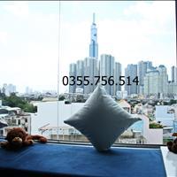 (Chính chủ, đúng hình đúng giá) cho thuê căn hộ dịch vụ gác lửng, view Landmark, gần Thảo Cầm Viên