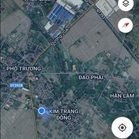 Bán lô đất đấu giá xã Lam Sơn, Thanh Miện, chênh nhẹ so với giá đấu