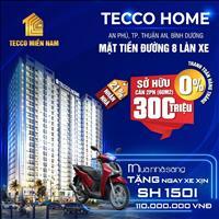 Sở hữu căn hộ trung tâm TP Thuận An với 300 triệu 60m2, 2PN 2WC, ngay vòng xoay An Phú, lãi suất 0%
