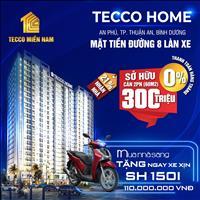 Căn hộ trung tâm thành phố Thuận An, chỉ 300 triệu/căn 2PN