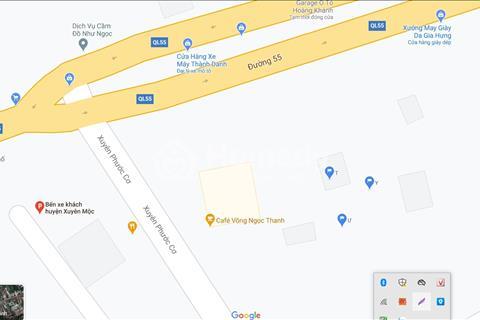 Cho thuê mặt bằng kinh doanh góc 2 mặt tiền trung tâm thị trấn Phước Bửu (Bà Tô)