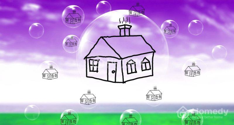 Có nhiều nguyên nhân dẫn tới tình trạng bong bóng bất động sản