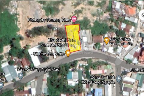 Cho thuê đất mặt tiền Nguyễn Khuyến Vĩnh Hải Nha Trang
