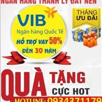 Ngân hàng quốc tế VIB (hỗ trợ) thanh lý 29 nền đất Bình Chánh giáp Bình Tân, giá 1.2 tỷ/nền 80m2
