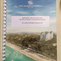 Chính chủ bán căn R1207 32m2, 100% view biển, dự án Apec Mũi Né - giá gốc 389tr, đã TT 34%