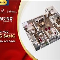 Diamond GoldMark City 136 Hồ Tùng Mậu 3PN, 4PN, Duplex chỉ từ 29tr/m2, lãi suất 0%/18 tháng CK 8%