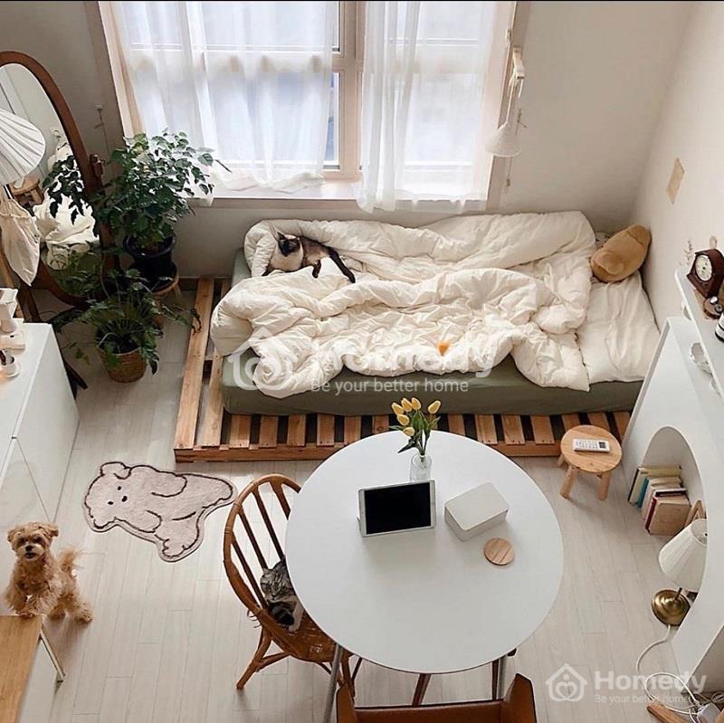 Không gian diện tích là yếu tố cần lưu ý đầu tiên trong trang trí phòng trọ