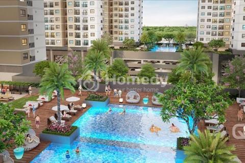 Bán căn hộ Q7, giáp Phú Mỹ Hưng, 2 phòng ngủ chỉ 2.35 tỷ, đầy đủ tiện ích, nội thất cơ bản cao cấp