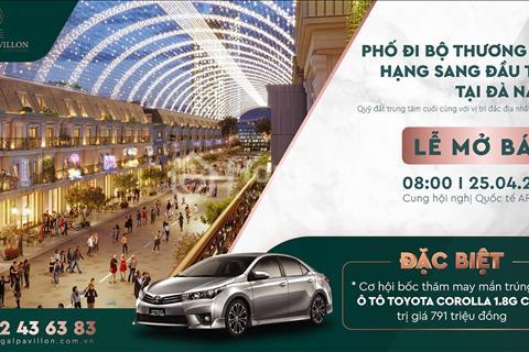 Tậu nhà phố trung tâm TP Đà Nẵng trúng ô tô - duy nhất lúc 8:00 25/4/2021