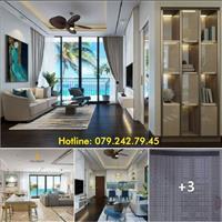 Bán căn hộ nghỉ dưỡng khu resort Aria Vũng Tàu, view biển, 2 phòng ngủ, tầng 6, full nội thất