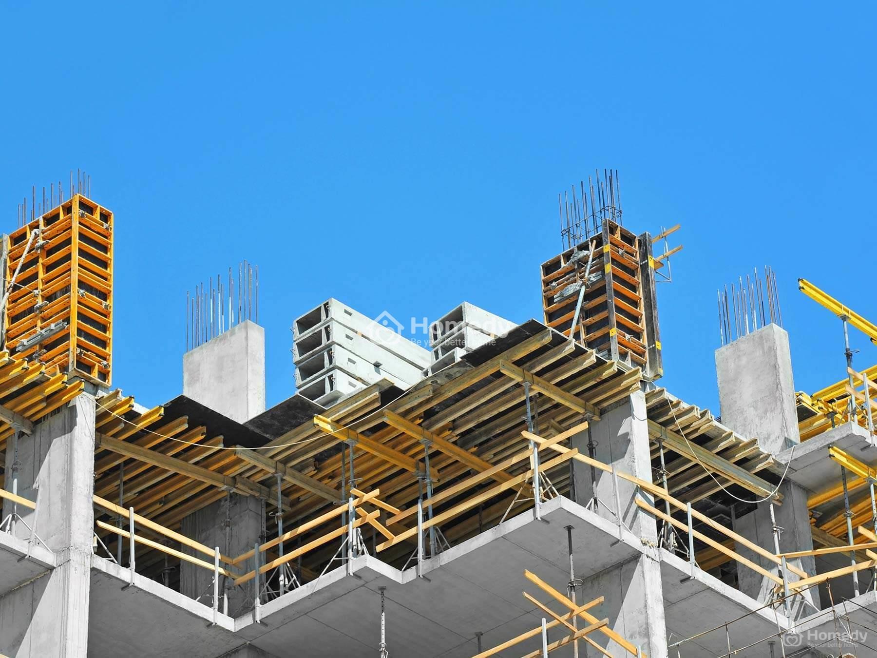Mỗi công trình được xác định cấp dựa theo nhiều tiêu chí