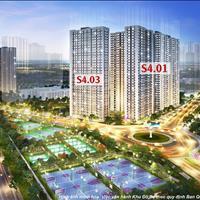 Gia đình cần tiền, bán nhanh cắt lỗ căn hộ mới 2PN2WC bên Vinhomes Smart City Tây Mỗ.