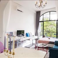 Cho thuê căn hộ dịch vụ cao cấp Quận 3, thiết kế cổ điển, ban công thoáng mát