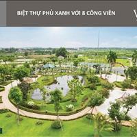 Biệt thự Q9, Villa Park Bừng Ông Thoàn, 292m2, 4 lầu, nhà thô, Giá 27 tỷ