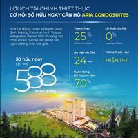 Nhận booking 50tr/suất căn hộ biển Aria Đà Nẵng - Vịnh xanh sánh đôi tuyệt tác