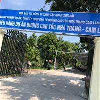 Chinh chủ cần sang nhượng lại lô đất 2 mặt tiền nằm ngay mặt tiền đường Lê Lợi Cam Lâm 10x50m