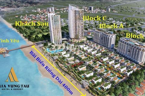 Căn hộ 2 phòng ngủ - 91m2 Aria Vũng Tàu - View biển - Giá 3,640 tỷ - liên hệ
