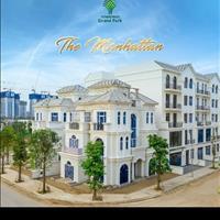 Cho thuê boutique shophouse Grand Park Q9, căn góc 2 mặt tiền công viên 36ha Mahatan 36ha